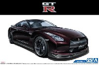 アオシマ1/24 ザ・モデルカーニッサン R35 GT-R Spec-V '09