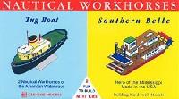 グレンコモデルプラスチックモデル組立キットタグボート & サザン・ベル号