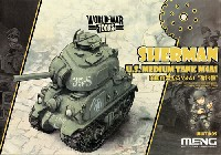 MENG-MODELWORLD WAR TOONSアメリカ中戦車 M4A1 シャーマン