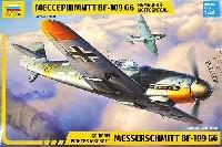 ズベズダ1/48 ミリタリーエアクラフト プラモデルメッサーシュミット Bf-109G6