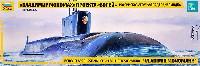 ズベズダ1/350 艦船モデルボレイ級 原子力潜水艦 ウラジミール・モノマーフ