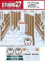 スタジオ27ツーリングカー/GTカー オリジナルデカールBMW M3 MM-ディーベルス #31/#32 DTM 1991 デカール