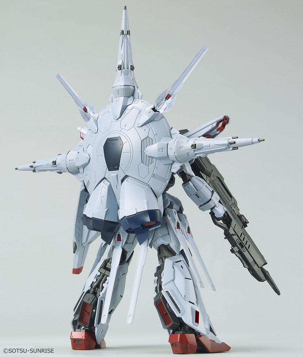 ZGMF-X13A プロヴィデンスガンダムプラモデル(バンダイMG (マスターグレード)No.0215629)商品画像_3