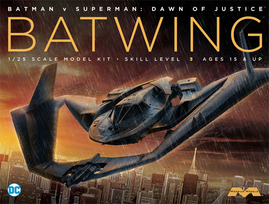 バットウイング (バットマン vs スーパーマン ジャスティスの誕生)プラモデル(メビウスメビウス プラスチックモデル組立キットNo.MOE969)商品画像