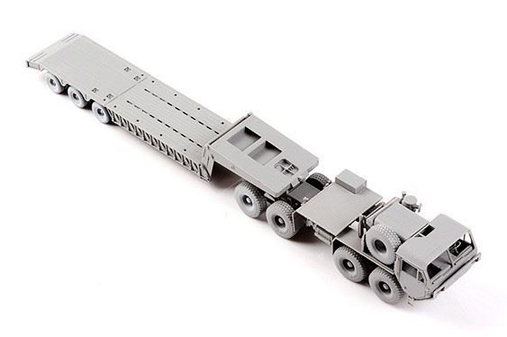 アメリカ M983A2 HEMTT トラクター/w M870A1セミトレーラープラモデル(モデルコレクト1/72 AFV キットNo.UA72083)商品画像_3