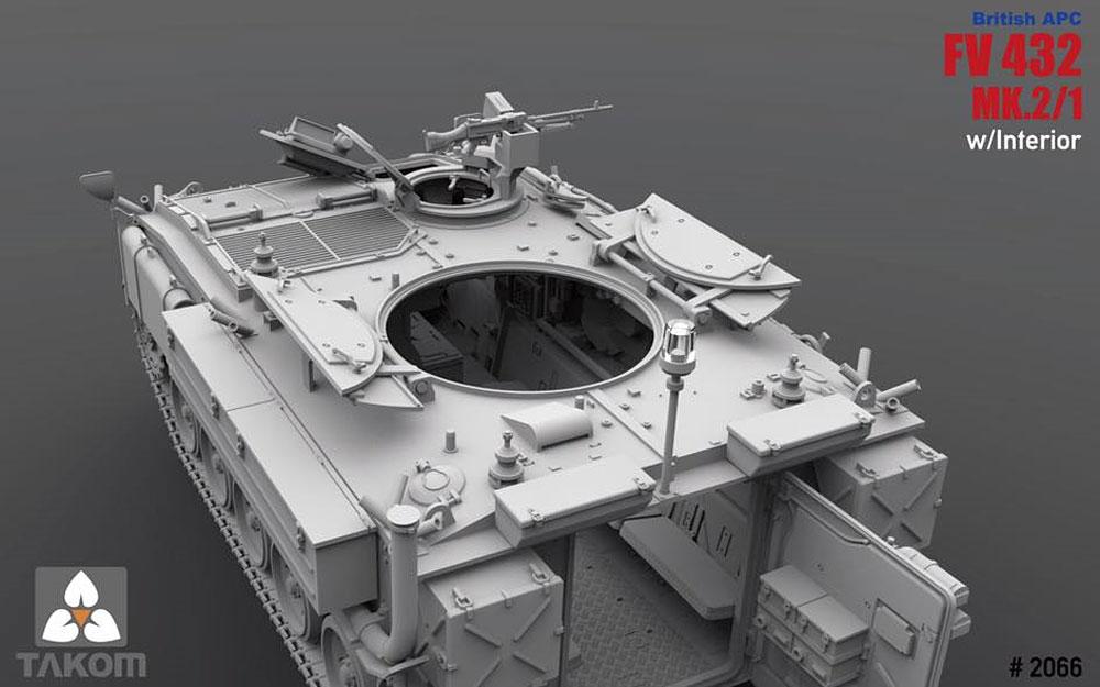 FV432 MK.2/1 装甲兵員輸送車 (インテリア付)プラモデル(タコム1/35 ミリタリーNo.2066)商品画像_4