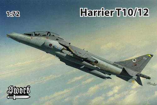 ハリアー T10/12プラモデル(ソード1/72 エアクラフト プラモデルNo.72099)商品画像
