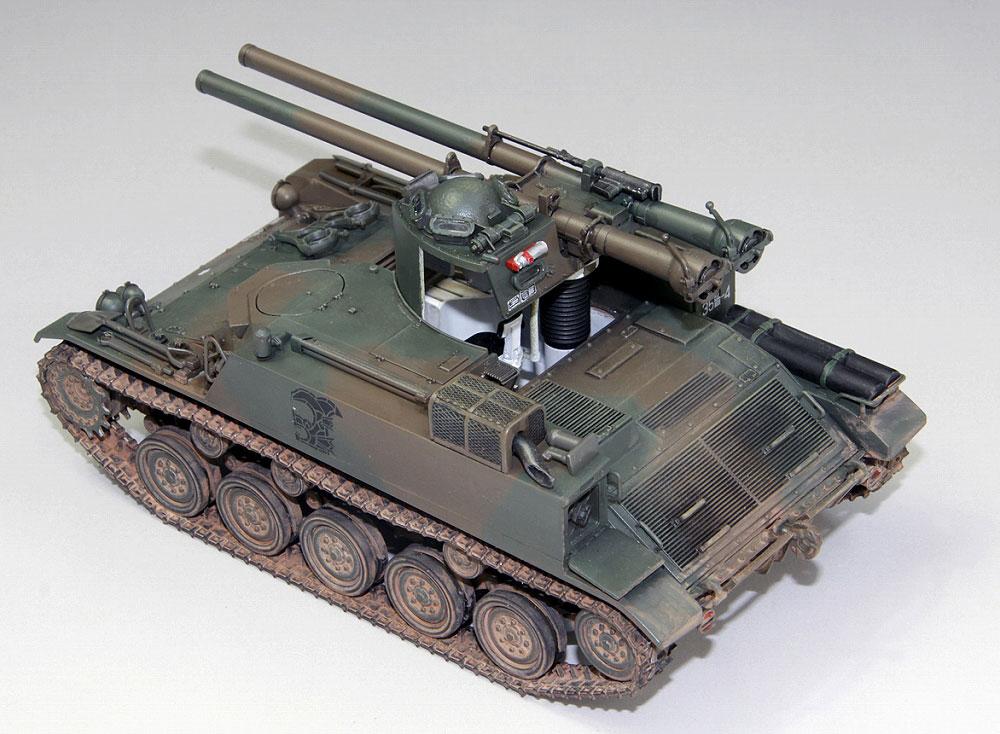 陸上自衛隊 60式自走106mm無反動砲 C型プラモデル(ファインモールド1/35 ミリタリーNo.FM051)商品画像_2