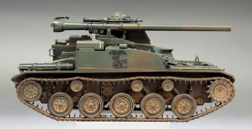 陸上自衛隊 60式自走106mm無反動砲 C型プラモデル(ファインモールド1/35 ミリタリーNo.FM051)商品画像_3