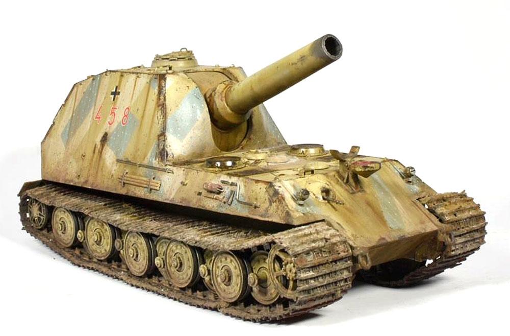 ドイツ 30.5cm 自走砲 ベアプラモデル(アミュージングホビー1/35 ミリタリーNo.35A014)商品画像_4