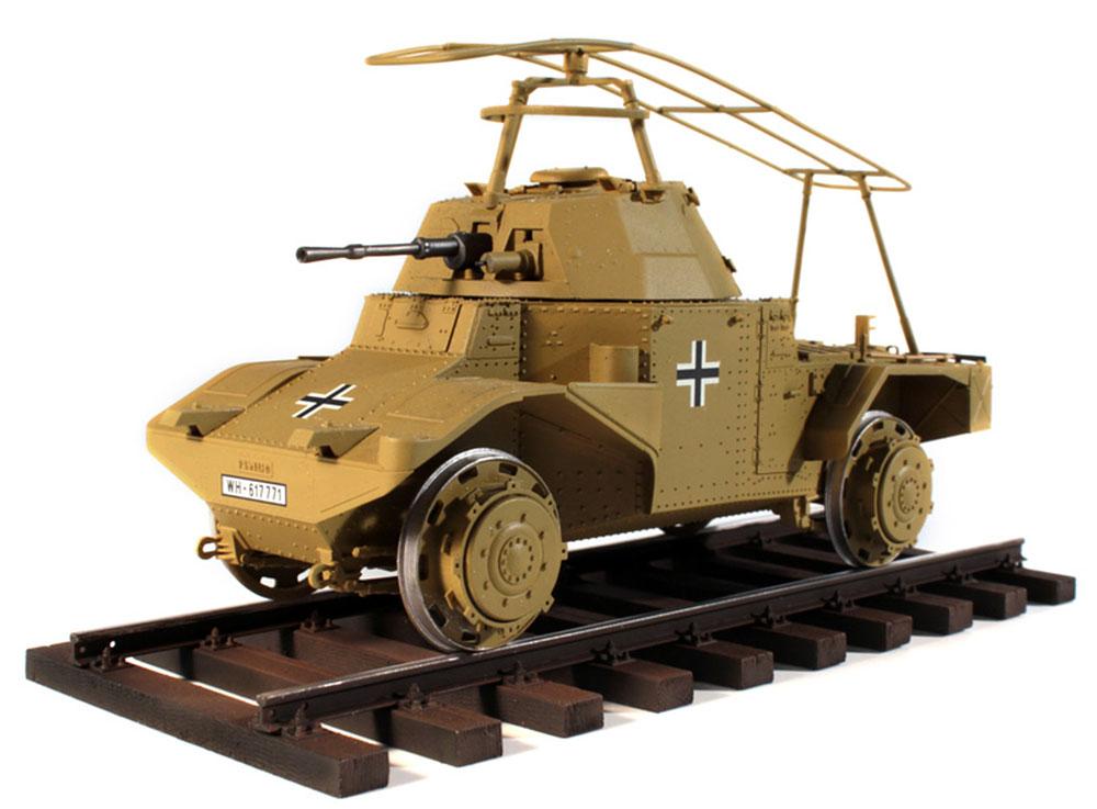 ドイツ P204(f) 軌道装甲車プラモデル(ICM1/35 ミリタリービークル・フィギュアNo.35376)商品画像_2