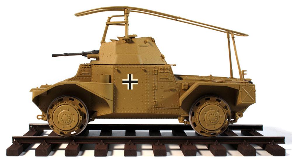 ドイツ P204(f) 軌道装甲車プラモデル(ICM1/35 ミリタリービークル・フィギュアNo.35376)商品画像_3