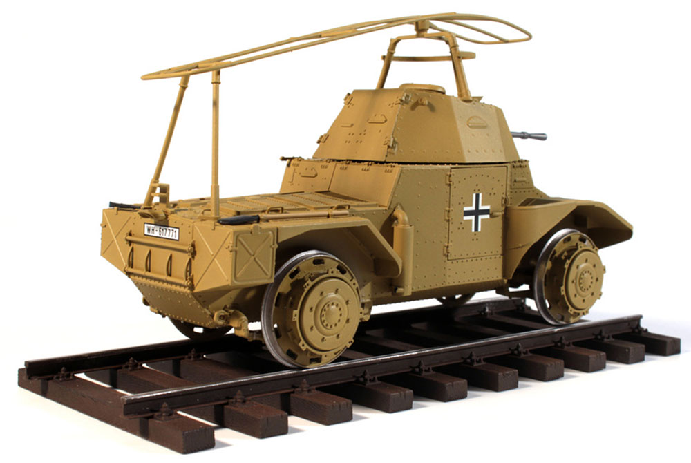 ドイツ P204(f) 軌道装甲車プラモデル(ICM1/35 ミリタリービークル・フィギュアNo.35376)商品画像_4