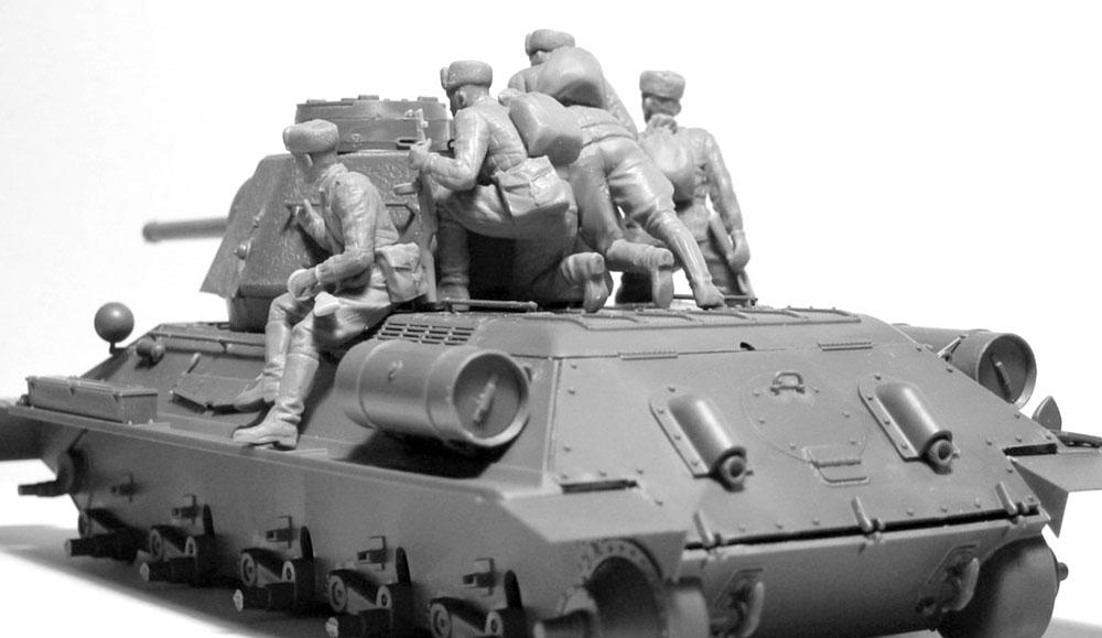 ソビエト 戦車搭乗兵 (1943-1945)プラモデル(ICM1/35 ミリタリービークル・フィギュアNo.35640)商品画像_3