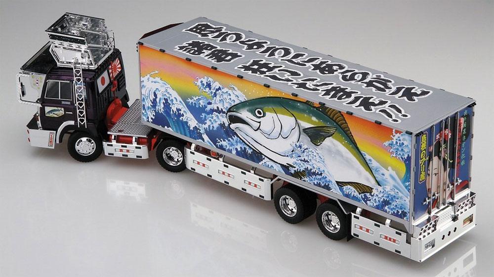 島根のブリ麿 (冷凍トレーラ)プラモデル(アオシマ1/32 バリューデコトラ シリーズNo.046)商品画像_3