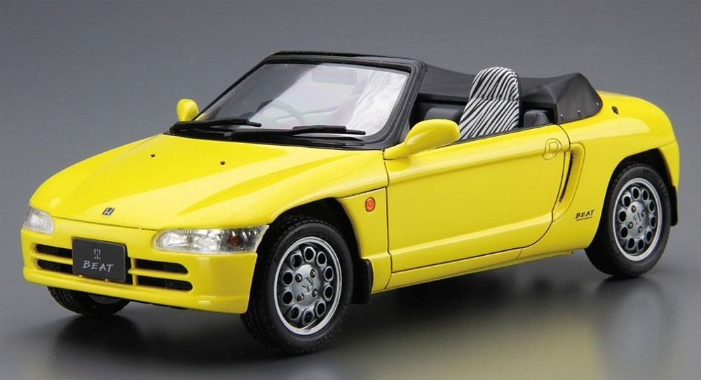 ホンダ PP1 ビート '91プラモデル(アオシマ1/24 ザ・モデルカーNo.039)商品画像_2