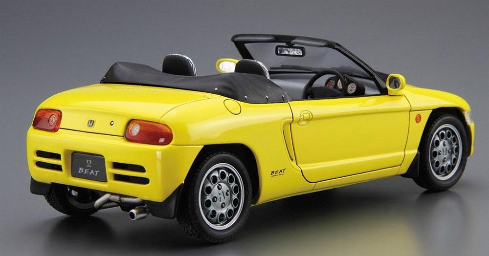 ホンダ PP1 ビート '91プラモデル(アオシマ1/24 ザ・モデルカーNo.039)商品画像_3
