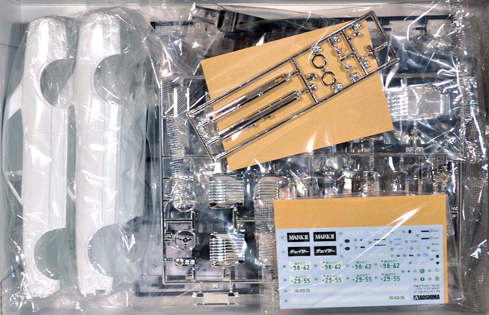トヨタ MX41 マーク 2 / チェイサー '79プラモデル(アオシマ1/24 ザ・モデルカーNo.旧041)商品画像_1