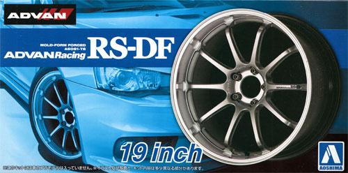 アドバンレーシング RS-DF 19インチプラモデル(アオシマザ・チューンドパーツNo.033)商品画像