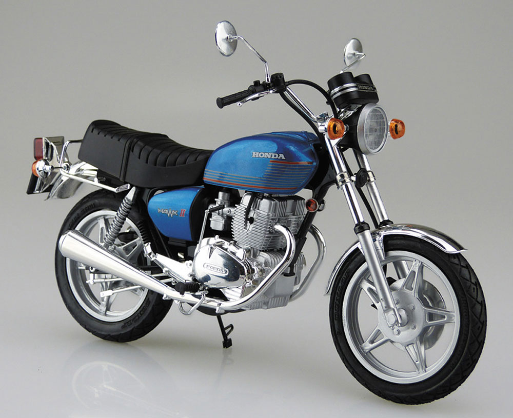 ホンダ ホーク 2 CB400Tプラモデル(アオシマ1/12 バイクNo.038)商品画像_2