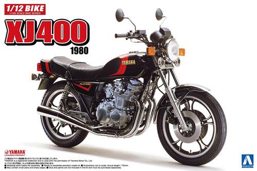 ヤマハ XJ400 1980プラモデル(アオシマ1/12 バイクNo.039)商品画像