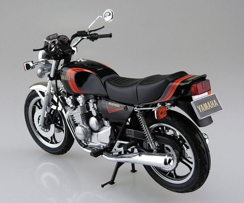 ヤマハ XJ400 1980プラモデル(アオシマ1/12 バイクNo.039)商品画像_3