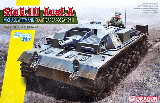 ドイツ 3号突撃砲A型 ミハエル・ヴィットマン LAH (バルバロッサ 1941)プラモデル(ドラゴン1/35 39-45 SeriesNo.6860)商品画像