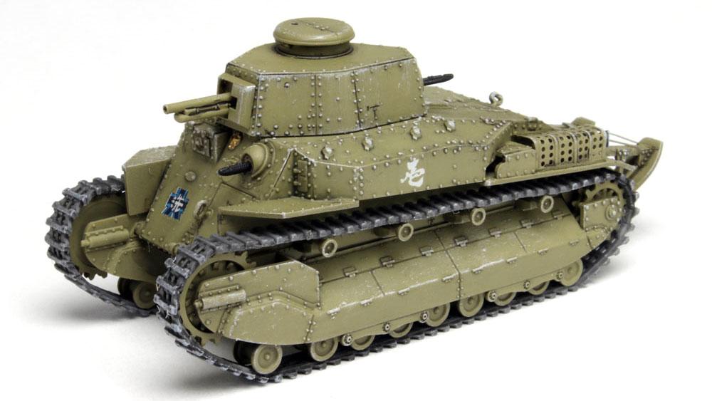 八九式中戦車 甲型 アヒルさんチームプラモデル(プラッツガールズ&パンツァーNo.GP72-013)商品画像_2