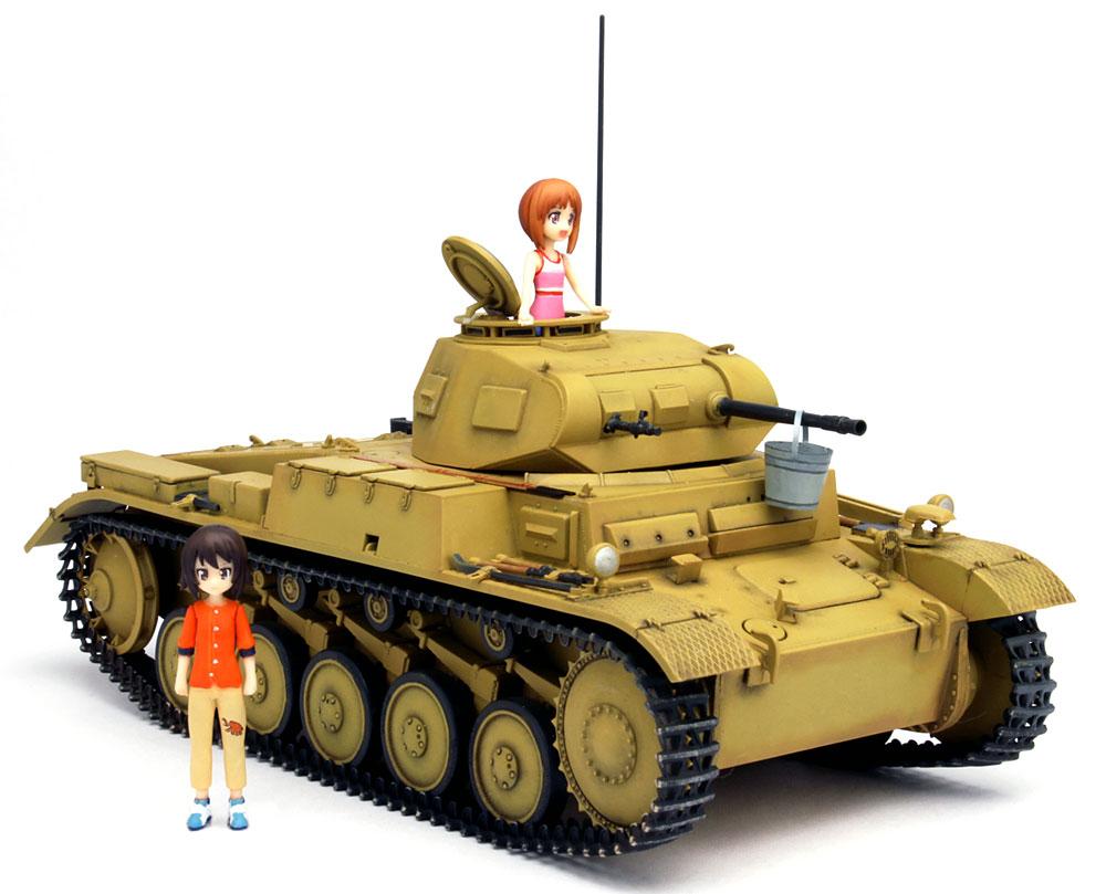 あの夏の2号戦車F型です! みほとまほの思い出 (ガールズ&パンツァー劇場版)プラモデル(プラッツガールズ&パンツァーNo.GP-034)商品画像_2