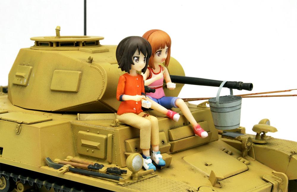 あの夏の2号戦車F型です! みほとまほの思い出 (ガールズ&パンツァー劇場版)プラモデル(プラッツガールズ&パンツァーNo.GP-034)商品画像_3