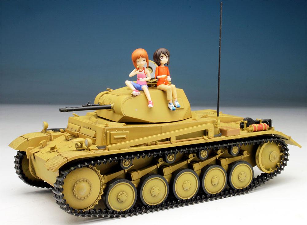 あの夏の2号戦車F型です! みほとまほの思い出 (ガールズ&パンツァー劇場版)プラモデル(プラッツガールズ&パンツァーNo.GP-034)商品画像_4