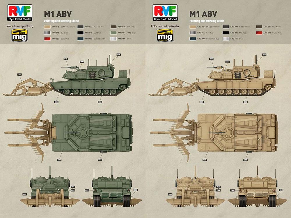 M1 ブリーチャープラモデル(ライ フィールド モデル1/35 Military Miniature SeriesNo.RM-5011)商品画像_2