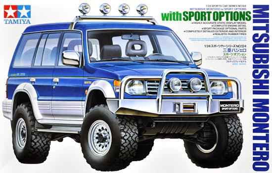 三菱 パジェロ スポーツオプションプラモデル(タミヤ1/24 スポーツカーシリーズNo.124)商品画像