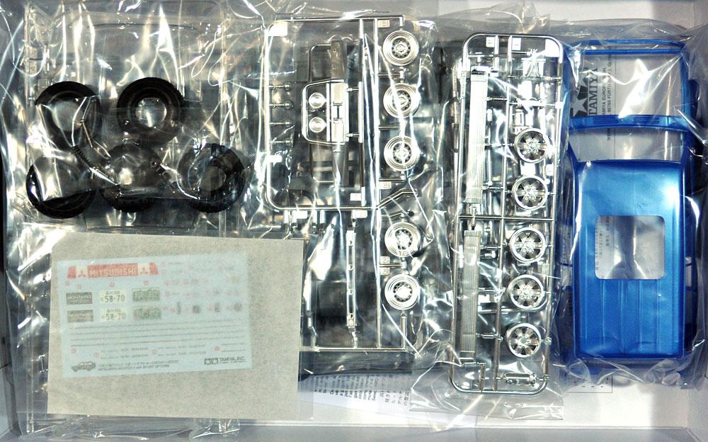 三菱 パジェロ スポーツオプションプラモデル(タミヤ1/24 スポーツカーシリーズNo.124)商品画像_1