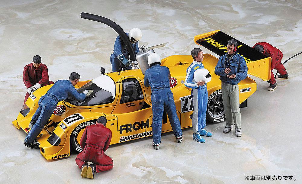 レーシング フィギュア セットプラモデル(ハセガワ1/24 自動車 限定生産No.20295)商品画像_3
