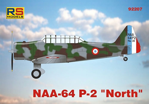 NAA-64 P-2 ノースプラモデル(RSモデル1/72 エアクラフト プラモデルNo.92207)商品画像