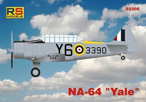 NA-64 イェールプラモデル(RSモデル1/72 エアクラフト プラモデルNo.92208)商品画像