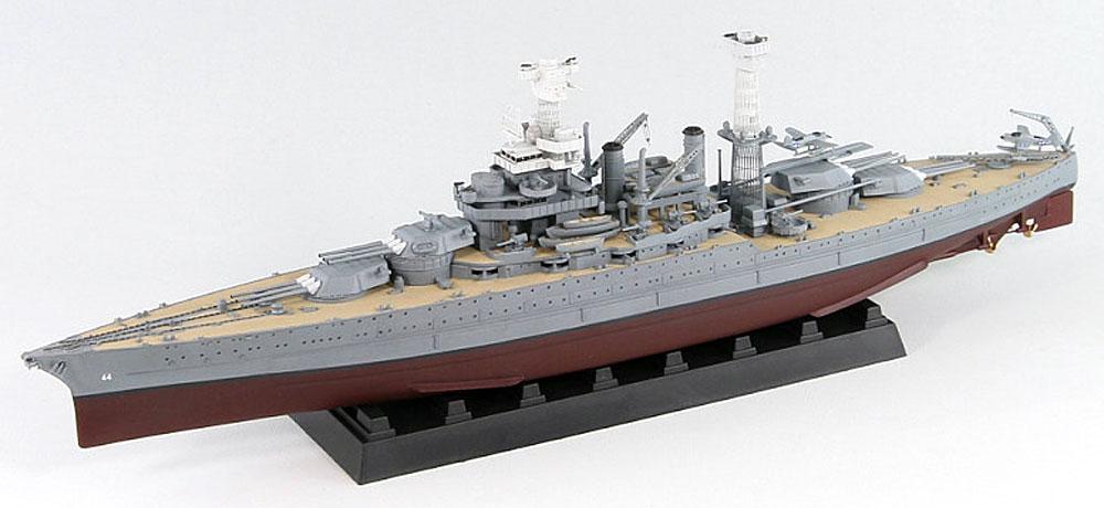 米国海軍 テネシー級戦艦 BB-44 カリフォルニア 1941 (35.6cm金属砲身×12本 & メタル製主砲測距義×8個付き)プラモデル(ピットロード1/700 スカイウェーブ W シリーズNo.W187SP)商品画像_2