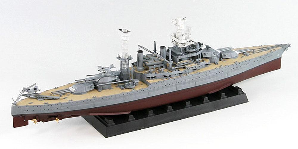 米国海軍 テネシー級戦艦 BB-44 カリフォルニア 1941 (35.6cm金属砲身×12本 & メタル製主砲測距義×8個付き)プラモデル(ピットロード1/700 スカイウェーブ W シリーズNo.W187SP)商品画像_3