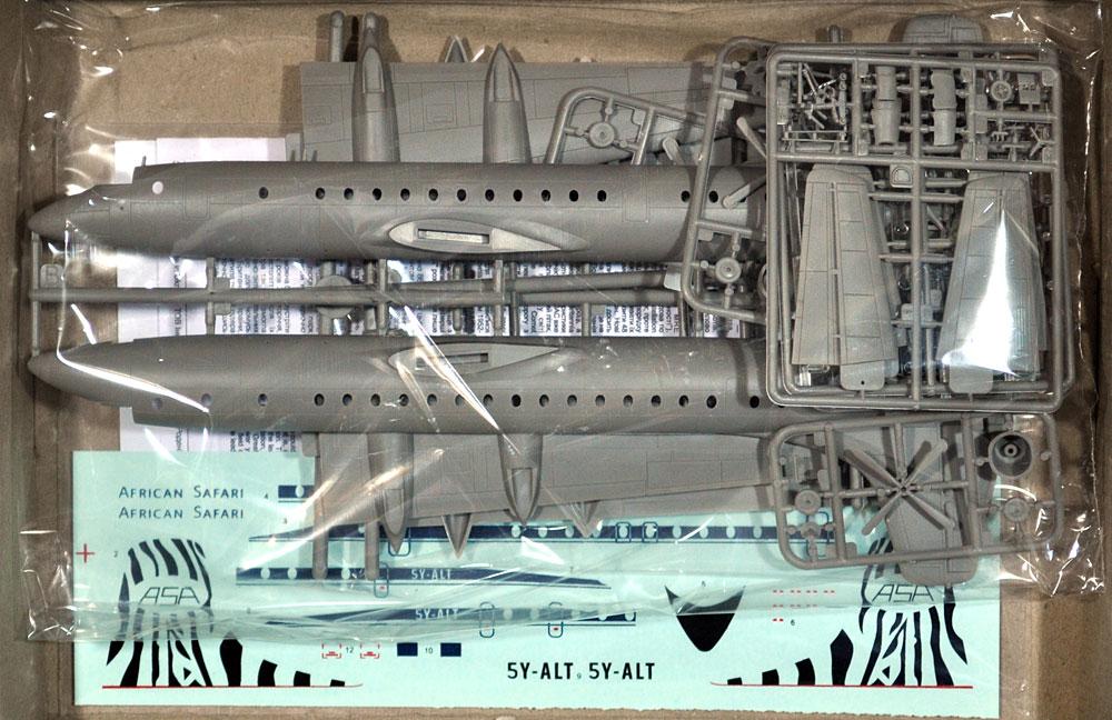 ブリストル 175 ブリタニア アフリカン サファリプラモデル(ローデン1/144 エアクラフトNo.326)商品画像_1