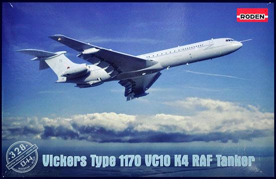 ビッカース スーパー VC10 K4 イギリス空軍 空中給油機プラモデル(ローデン1/144 エアクラフトNo.328)商品画像
