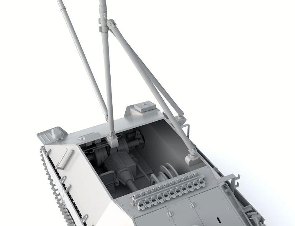 ドイツ ベルゲヘッツァー 戦車回収車 後期型 (リミテッドエディション)プラモデル(サンダーモデルプラスチックモデルキットNo.35100)商品画像_2