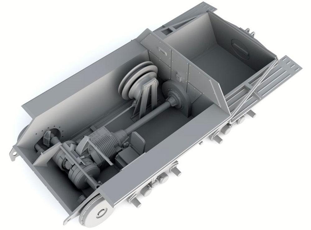 ドイツ ベルゲヘッツァー 戦車回収車 後期型 (リミテッドエディション)プラモデル(サンダーモデルプラスチックモデルキットNo.35100)商品画像_3