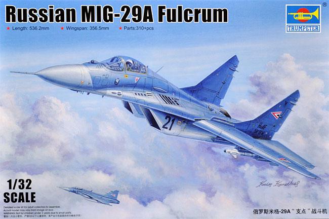 MiG-29A ファルクラムA型プラモデル(トランペッター1/32 エアクラフトシリーズNo.03223)商品画像
