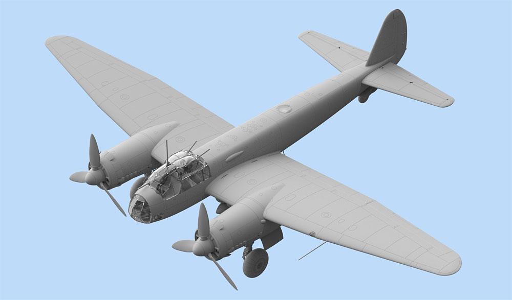 ユンカース Ju88A-11 爆撃機プラモデル(ICM1/48 エアクラフト プラモデルNo.48235)商品画像_2