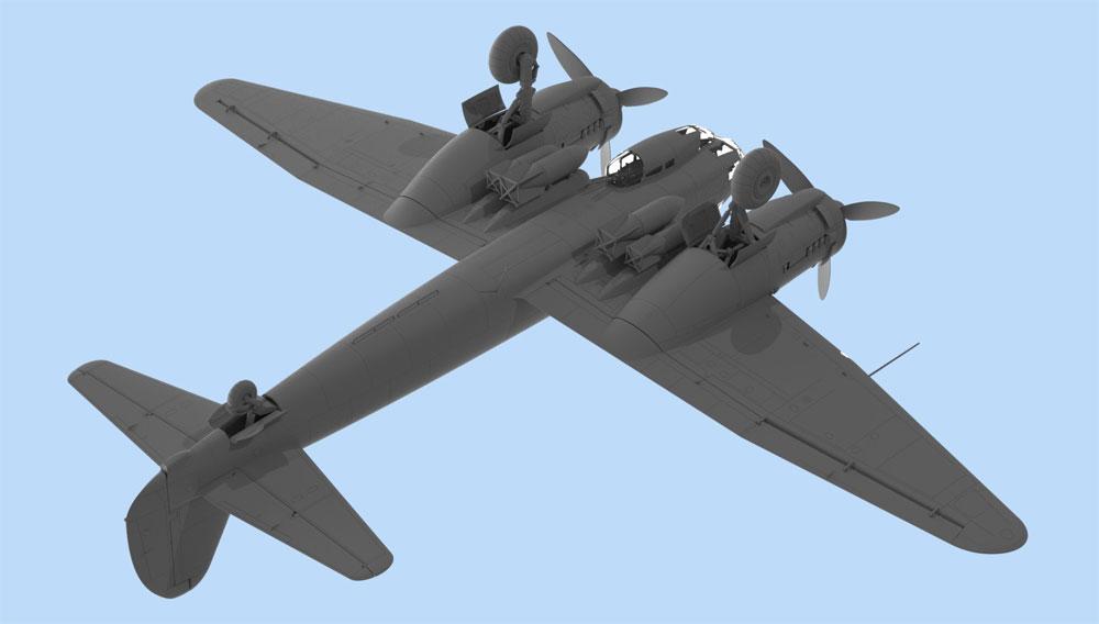 ユンカース Ju88A-11 爆撃機プラモデル(ICM1/48 エアクラフト プラモデルNo.48235)商品画像_3