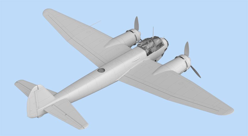 ユンカース Ju88A-11 爆撃機プラモデル(ICM1/48 エアクラフト プラモデルNo.48235)商品画像_4