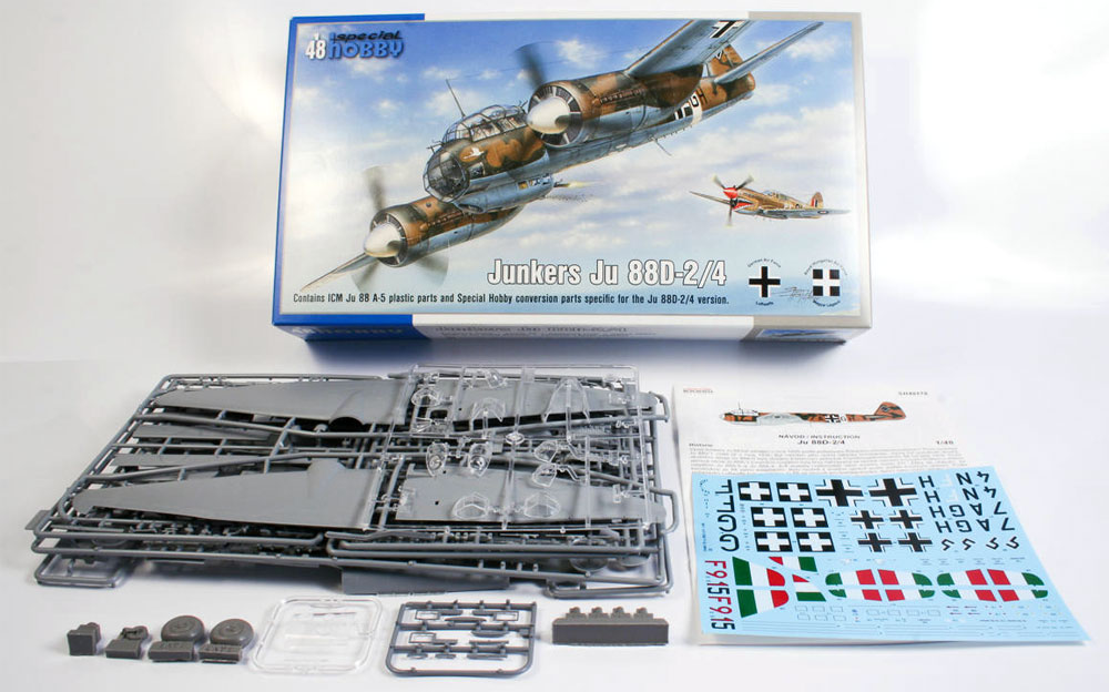 ユンカース Ju88D-2/4 長距離偵察機プラモデル(スペシャルホビー1/48 エアクラフト プラモデルNo.SH48178)商品画像_1
