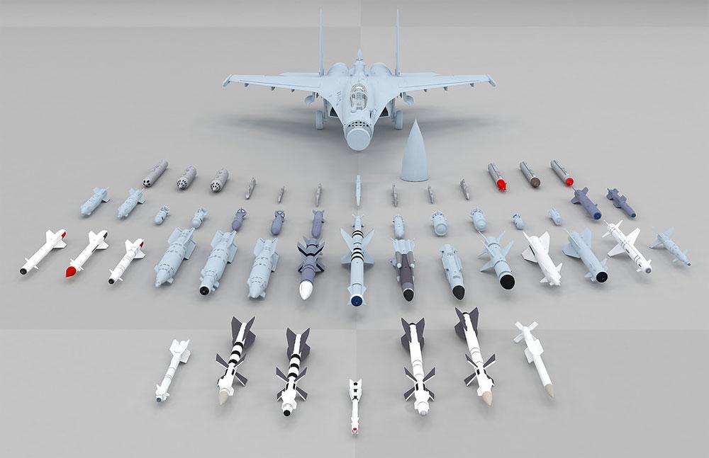 Su-35 フランカー Eプラモデル(キティホーク1/48 ミリタリーNo.KH80142)商品画像_2