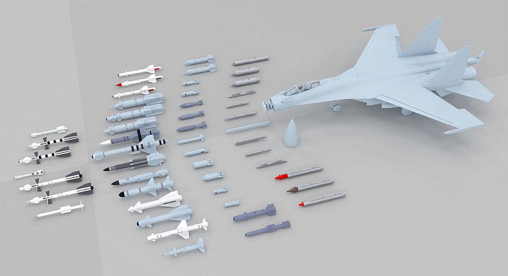 Su-35 フランカー Eプラモデル(キティホーク1/48 ミリタリーNo.KH80142)商品画像_3